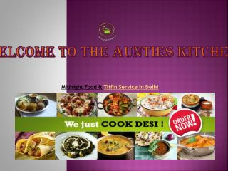 Home Delivery Food Services & Midnight Food Delivery