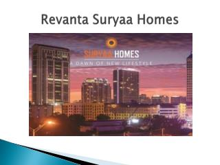 Revanta Suryaa Homes
