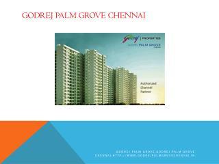 Godrej Palm Grove Chennai a perfect option for investors