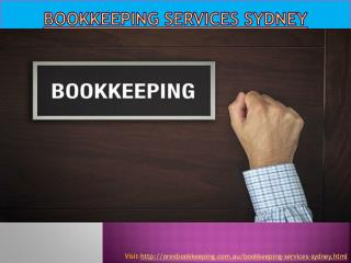 Bookkeeping services Sydney