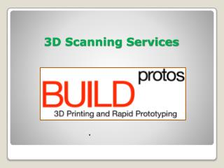 3D Scanning Services in Hyderabad