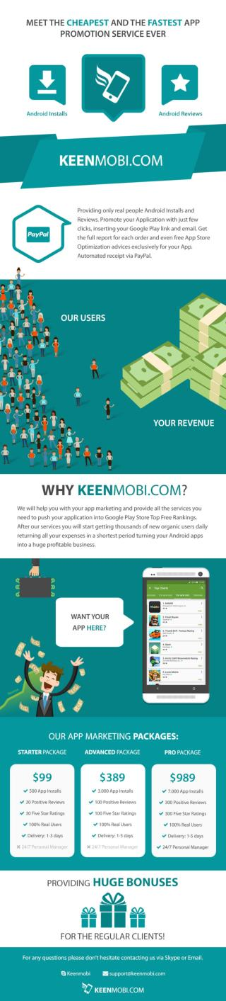 Promote Your Android Apps - KeenMobi.com