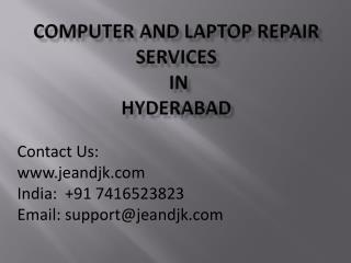 Laptop Repair Services in Hyderabad.