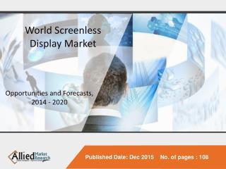 Screenless Display
