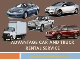 Car and Truck Rentals in North York