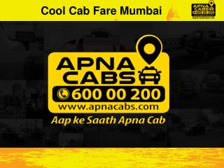 Cool Cab Fare Mumbai