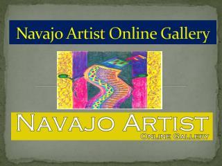 Navajo Artist Online Gallery