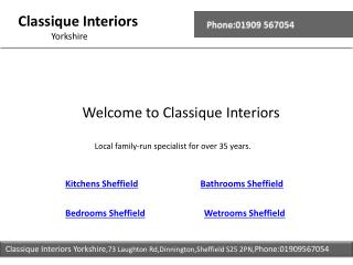 Wetrooms Sheffield