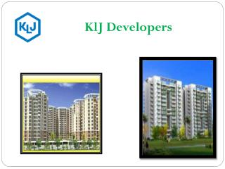 KLJ Developers Pvt Ltd Real Estate Company in Faridabad