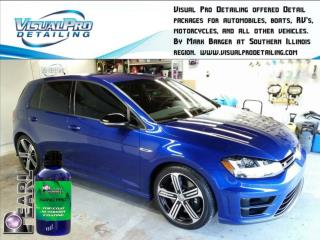 Visual Pro Detailing offers Paint correction and defect removal