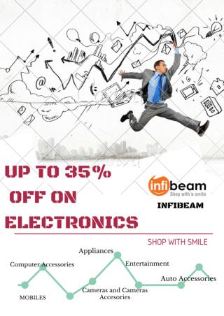 Up to 35% Discount on Electronics Products at infibeam.com