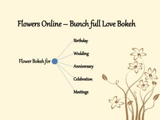 Online Flower Shop India| Flower Bunches for Online Giftings