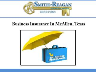 Business Insurance In McAllen, Texas
