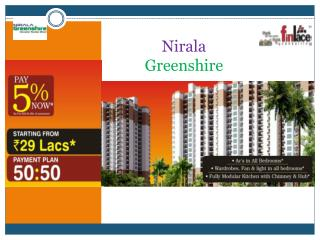 Nirala Greenshire, Noida Extension Greater Noida West