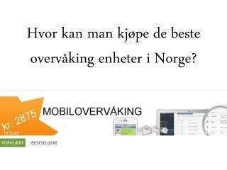 Hvor kan man kjøpe de beste overvåking enheter i Norge?