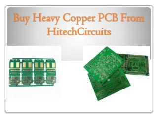 Benefits of Buying From HitechCircuits