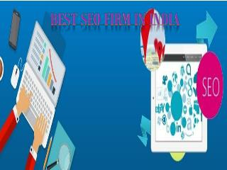 Best SEO Firm In India