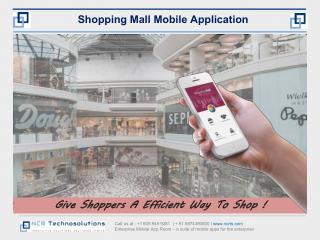Shopping Mall App Development Presentation
