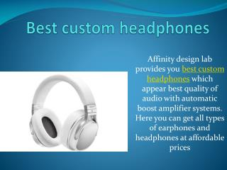 OEM headphones
