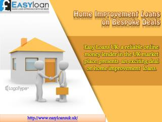 Home Improvement Loans on Reasonable Prices