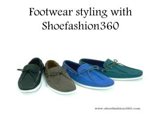 Footwear styling with Shoefashion360