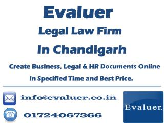 Legal Law Firm In Chadigarh