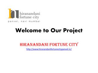 Hiranandani Fortune City Navi Mumbai