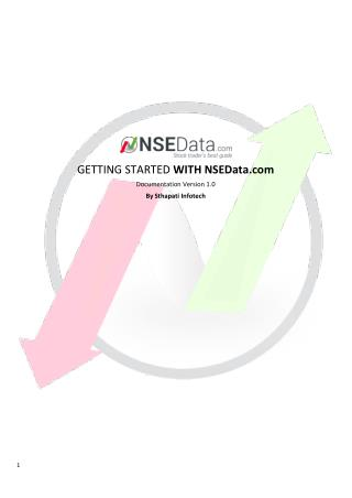 GETTING STARTED WITH NSEData.com