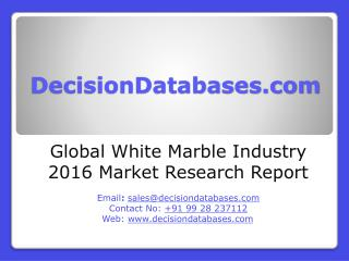 White Marble Market Analysis 2016 Development Trends