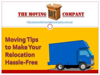 Make Moving Day Less Stressful With These Tips