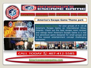 Escape Rooms Orlando
