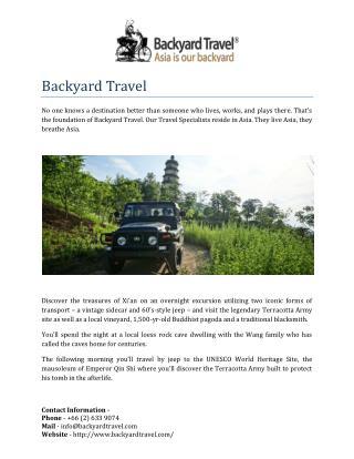 Backyard Travel