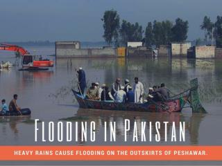 Flooding in Pakistan