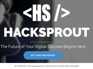 Hacksprout  website design and development company