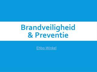 Brandveiligheid en preventie thuis