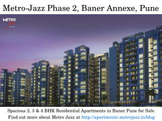 Spacious 2, 3 & 4 BHK Residential Projects in Baner Pune for Sale