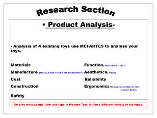 Research Section