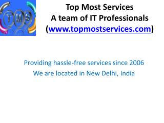 Top Most Services