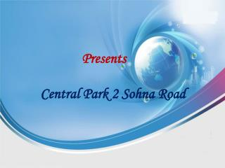 Central Park 2 Sohna Road