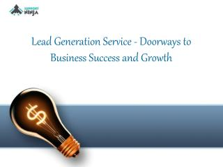 Lead Generation Service - Doorways to Business Success and Growth