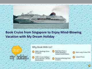 Online Star Cruise Packages Singapore - My Dream Holiday