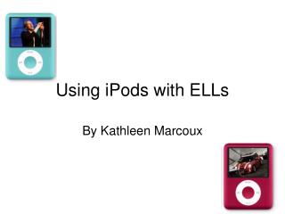 Using iPods with ELLs