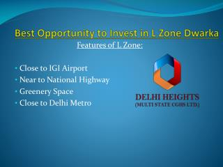 Delhi Heights Multi State CGHS offers apartment in Delhi NCR
