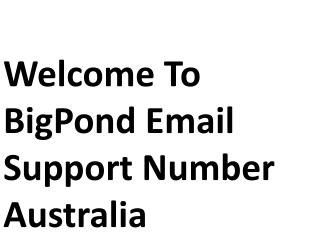 Boost Your System Performance By Contacting Bigpond Support