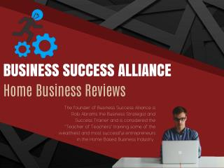Rob Abrams Business Success Alliance Reviews