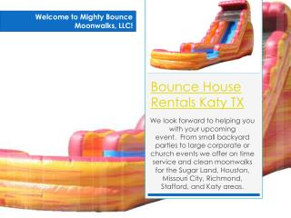 Bounce House Rentals Pearland TX
