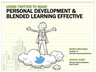 Using Twitter To Make Personal Development & Blended Learning Effective