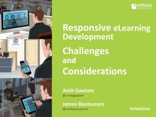 Responsive eLearning Development - Challenges & Considerations