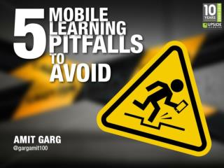 5 Mobile Learning Pitfalls To Avoid