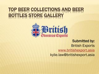 Top Beer Collections and beer bottles store Gallery